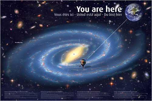 you are here (solar system)
