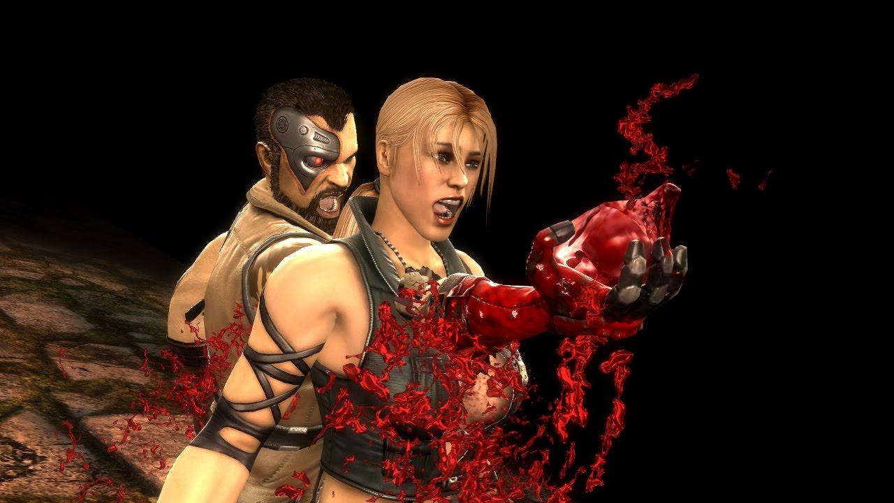 Mortal Kombat Kano Fatality 1 (Heartbreak)