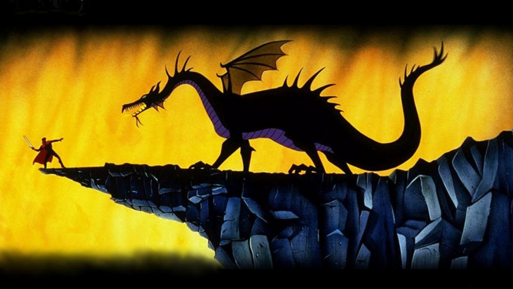 La bella durmiente: El príncipe contra el dragón.