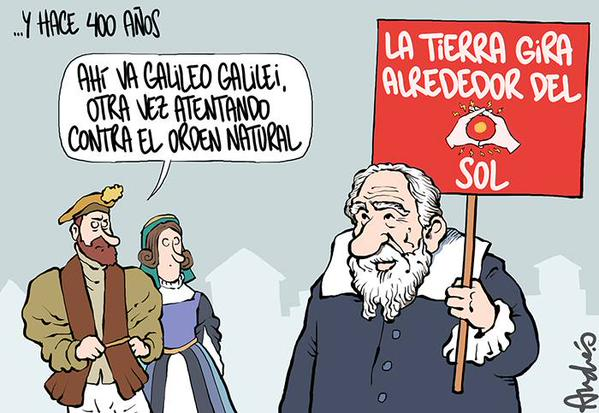 Galileo y la Unión Civil