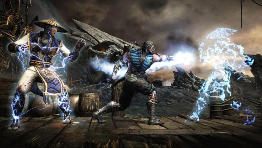 Mortal Kombat X - Sub-Zero vs. Raiden