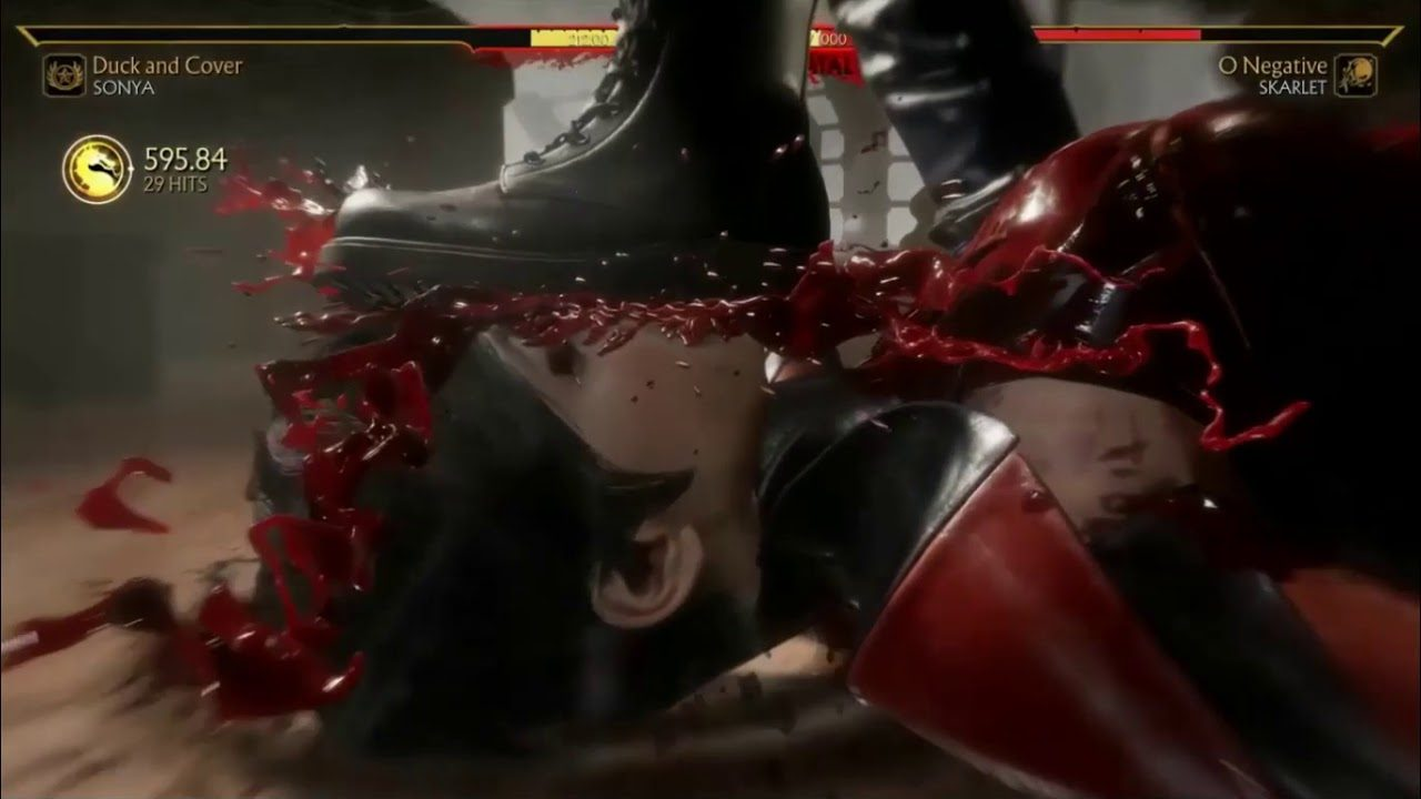 Mortal Kombat 11 - Fatal Blow de Sonya