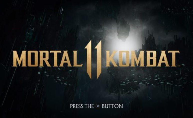 Pantalla de inicio de Mortal Kombat 11