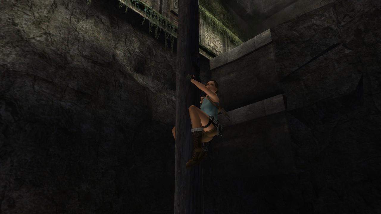 Ahora Lara puede trepar postes