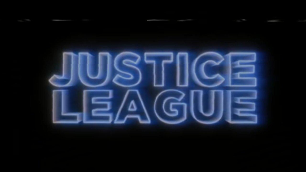 Justice League retro trailer